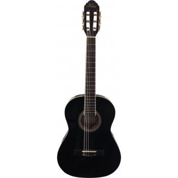 Klas Klasik Gitar Tam Boy Düz Kasa 4/4 BK