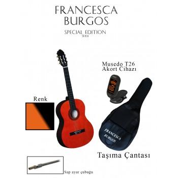 CG851F SB - 39'' Klasik Gitar (Sunburst)