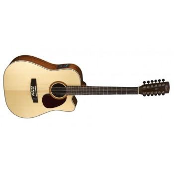 Cort MR710F12NS 12 Telli Elektro Akustik Gitar