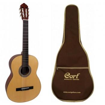 CORT AC100OPW KLASİK Gitar / KILIF+PENA