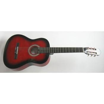 Cremonia AC821R-RB 3/4 Klasik Gitar Kırmızı