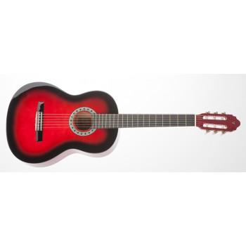 Valencia CG150RDS Kırmızı Sunburst Klasik Gitar