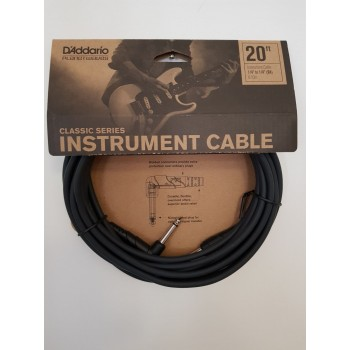GİTAR KABLO 20 İNCH CABLE RİGHT ANGLE