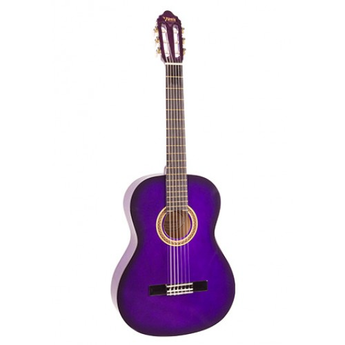 Valencia VC103-PPS 3/4 Mor Klasik Çocuk Gitarı