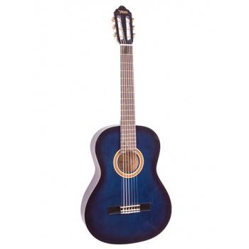 Valencia VC101BUS 1/4 Mavi Klasik Çocuk Gitarı