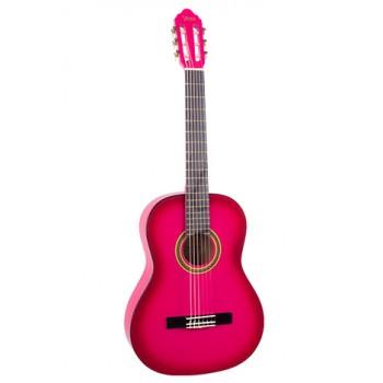 Valencia VC101PKS 1/4 Pembe Klasik Çocuk Gitarı