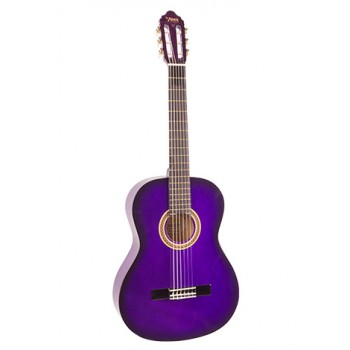Valencia VC101PPS 1/4 Mor Klasik Çocuk Gitarı