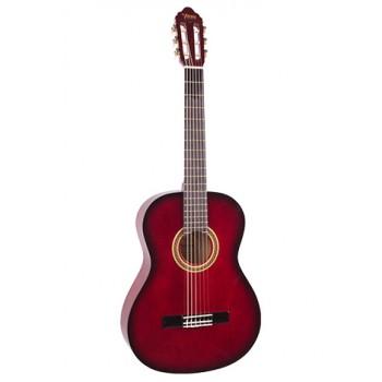 Valencia VC102TRDS 1/2 Kırmızı Klasik Çocuk Gitarı