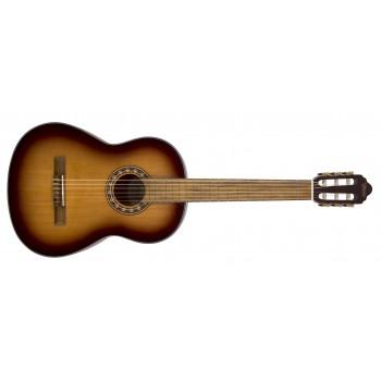 Valencia VC304ASB 4/4 Antik Sunburst Mat Klasik Gitar