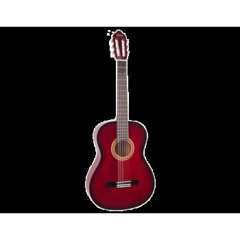 Valencia VC104RDS 4/4 Kırmızı Klasik Gitar