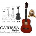 CARİSSA-CG-160 RDS(KIRMIZI SİYAH) KLASİK GİTAR