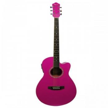 Clariss CAG100CEPN Elektro Akustik Gitar