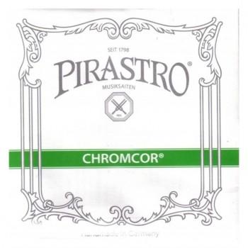 Pirastro Chromcor Violin Set (E-ball) Medium - Keman Teli
