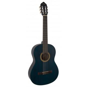 Valencia VC204TBU Klasik Gitar Maviburst KILIF+ PENA
