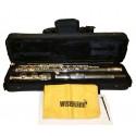 Wisemann DFL211 - Japon Gövdeli Gümüş Kaplama Yan Flüt